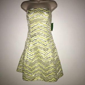 lilly pulitzer  jacquard Sherry Dress Sz 2,